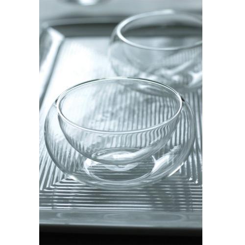 二層ガラスアミューズ器