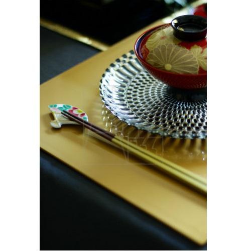 【清水焼】お箸置き2個セット/紅白椿
