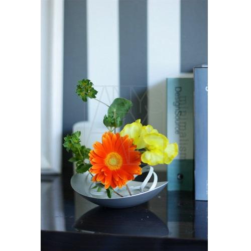 アルミニウム花器 プレート&リング