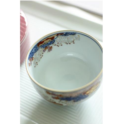 【有田焼】春秋文 蓋付き茶器