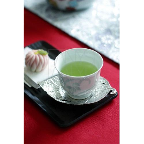 【有田焼】青磁花彫 煎茶椀