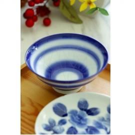 【三川内焼】コバルト 飯碗