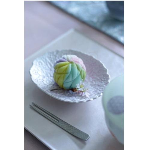 【有田焼】桜彫小皿/ピンク