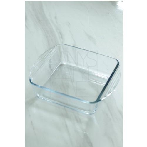 耐熱ガラススクエアベーカーMID