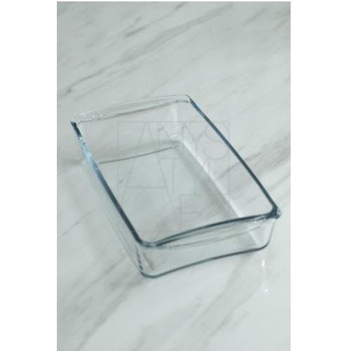耐熱ガラス長角ベーカーMID