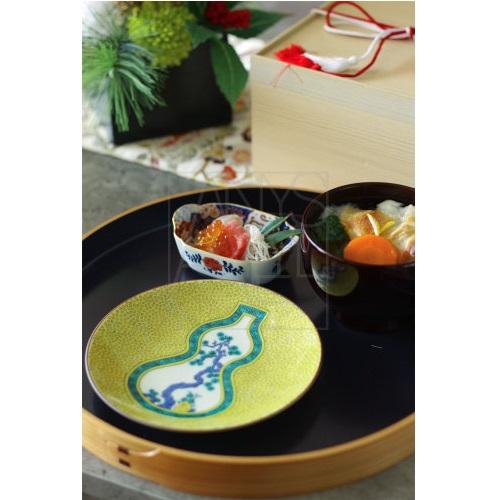 【九谷焼】古九谷ひょうたん皿5枚セット