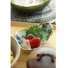 【美濃焼】唐草たたき小鉢