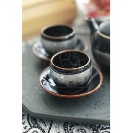 【波佐見焼】小茶器/銀麻の葉