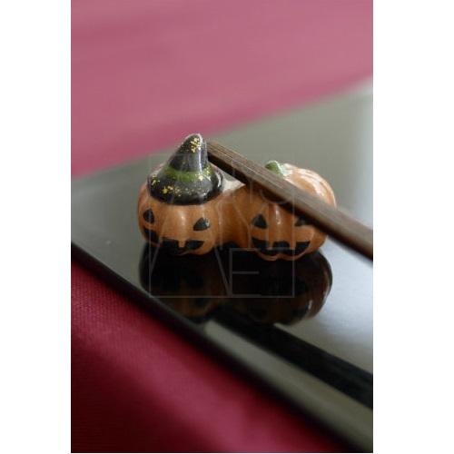 【清水焼】お箸置き/かぼちゃ