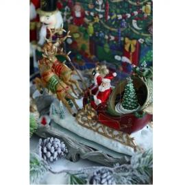 【40%OFF】クリスマスオルゴール/サンタ