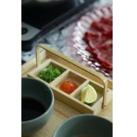 スタッキング三連薬味入/竹