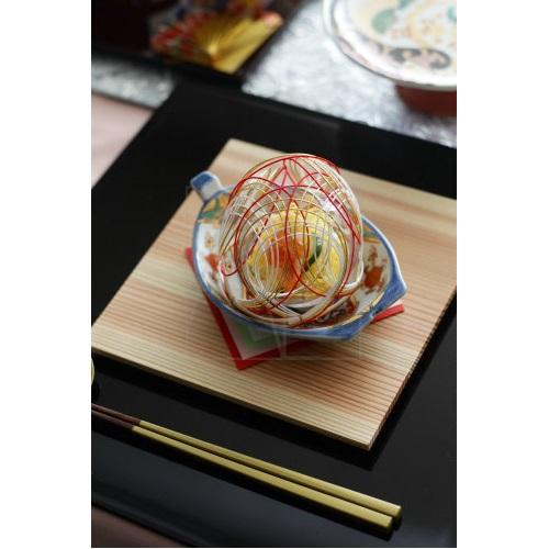 【有田焼】舟形小皿/宝紋