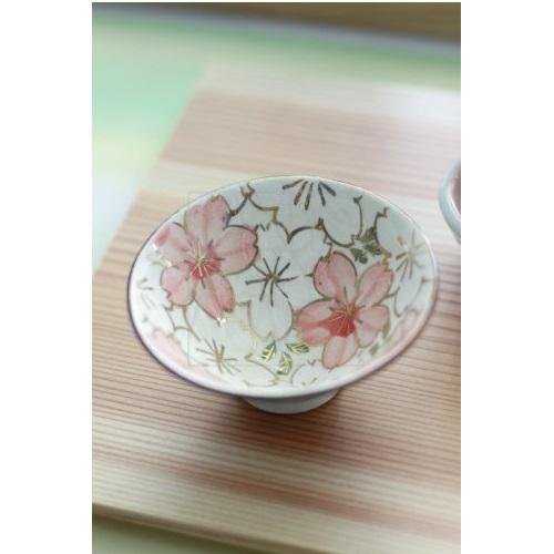 【清水焼】桜小鉢/ぐい呑