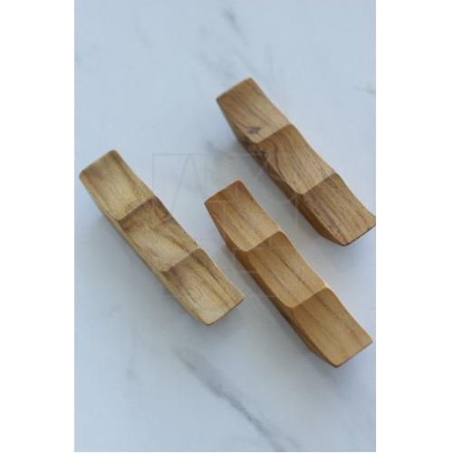 ウェーブ木製カトラリーレスト