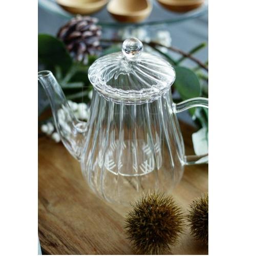 耐熱ガラス ティーポット580ml