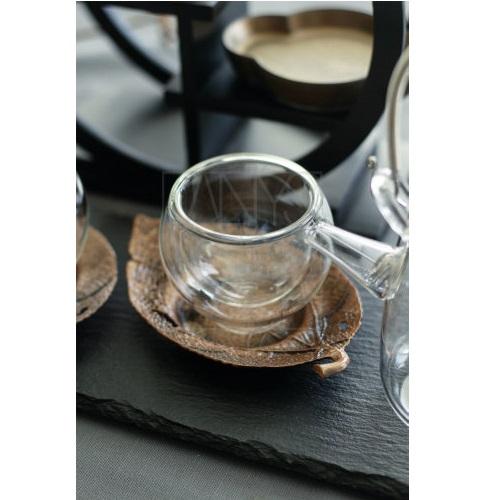二層茶器カップ 6客セット
