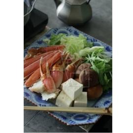【30%OFF有田焼】染付花紋 八角皿