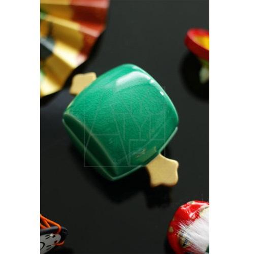 【有田焼】打出小槌 珍味入/緑金