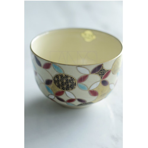 【清水焼】七宝 小茶碗