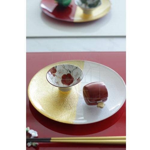 【清水焼】梅小鉢/ぐい呑