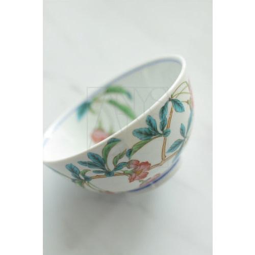【九谷焼】飯椀/花