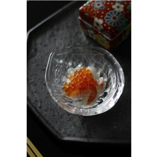 あわび ガラス小皿