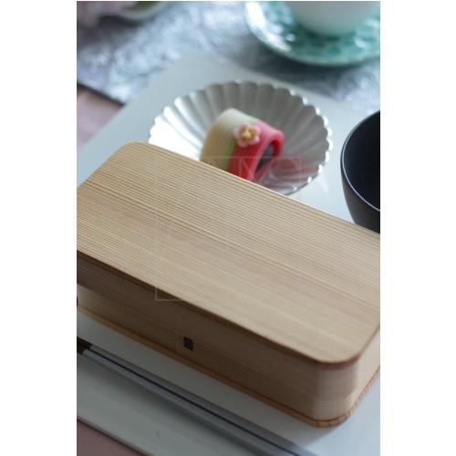 曲げわっぱ長角弁当箱/杉
