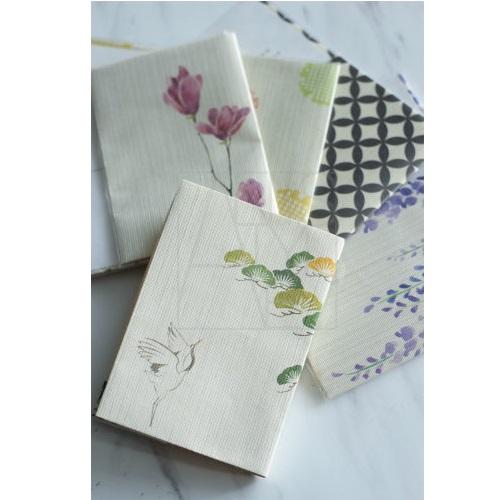 紗紙ブックカバー/木蓮
