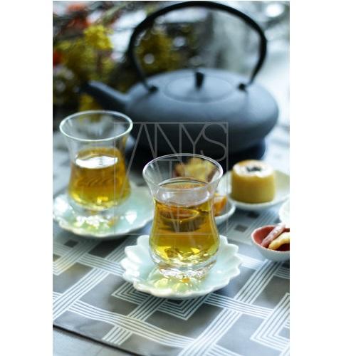チャイグラス&ソーサー 6客セット