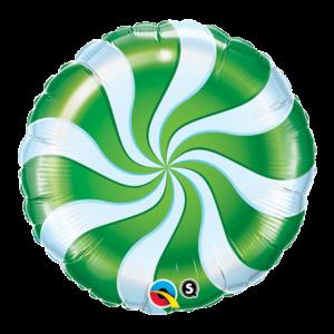 【バルーン】キャンディースワール グリーン
