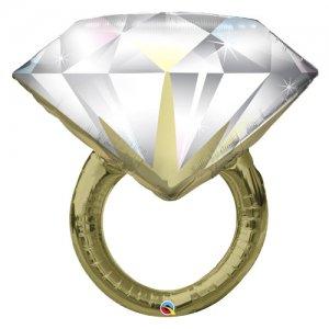 【バルーン】ダイヤモンドウェディングリング