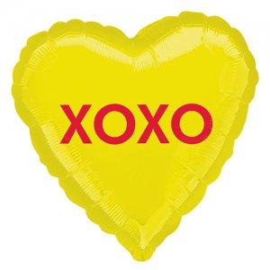 【バルーン】XOXO キャンディーハート