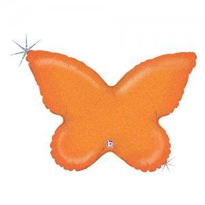 【バルーン】バタフライソリッドオレンジ