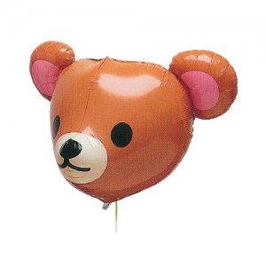 【バルーン】3Dクーマスタイルキャラメルブラウン