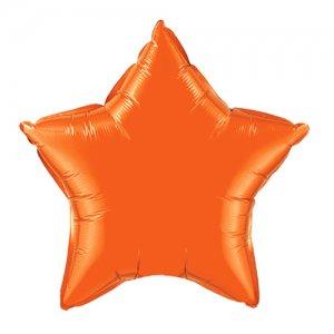 【バルーン】オレンジ スター