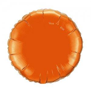 【バルーン】オレンジ ラウンド