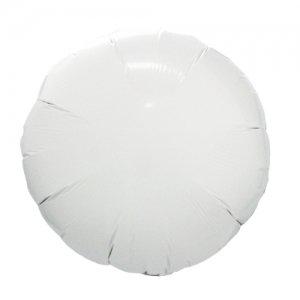 【バルーン】ホワイト ラウンド