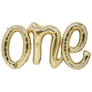 【バルーン】ワンスクリプト ホワイトゴールド