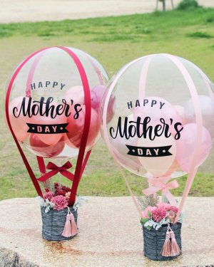 【バルーン】 母の日 気球バルーンアレンジメント