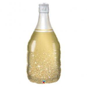 【バルーン】ゴールデンバブリーワインボトル