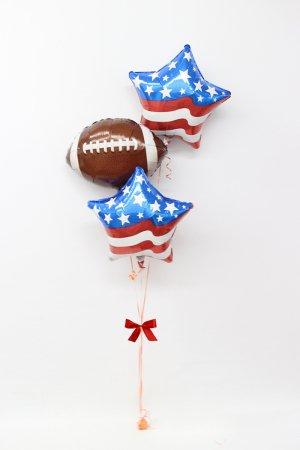 【バルーン】アメリカンフットボールブーケ