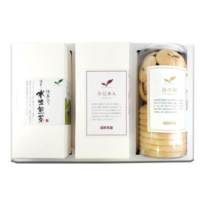 最中(大・小)/小豆あん/水出し煎茶 ギフト M3-260A