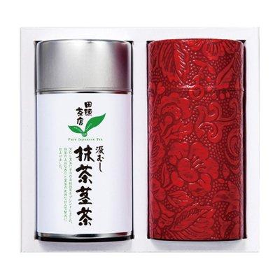 深むし煎茶/抹茶茎茶 ギフト T2-395A