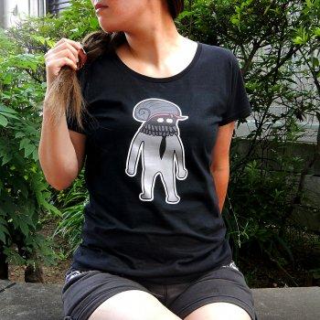【送料無料】海底紳士スケおじさんTシャツ(淑女用)【二代目】