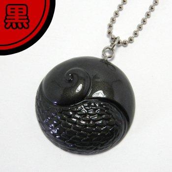 スケまる【黒】(スケーリーフットキーチェーン)