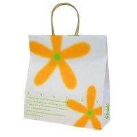 ギフトバッグ フラワー(紙袋) 中 サイズ:横32×縦32×マチ11cm