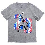 【JORDAN】ジョーダン  #23グラフィック Tシャツ (96-116cm) GY