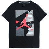 【JORDAN】JORDAN7 アウトソール Tシャツ (128-170cm) BK