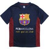 【FCBオフィシャル】FCバルセロナ サッカーシャツ(130-160cm) BK/RD