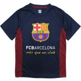 【FCBオフィシャル】FCバルセロナ フットボールTシャツ(130-160cm) BK/RD